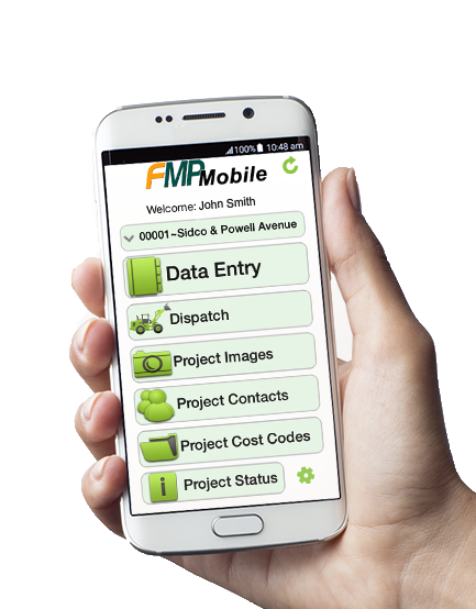 Mobile Field Management Software for Road Construction |